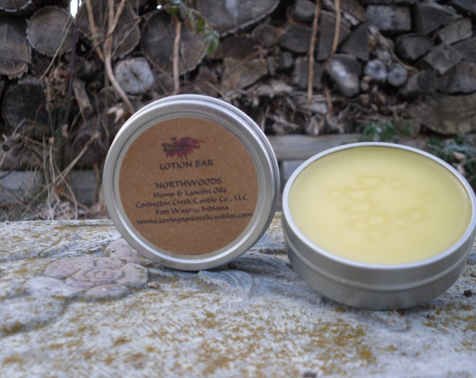 Featured listing image: Northwoods 1.5 oz  Solid Lotion