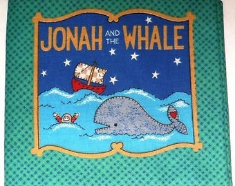 """Cloth Book Baby/ Toddler """"Jonah and the Whale"""""""