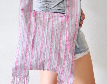 Handmade Woven  Hobo bag Hippie bag Bag Crossbody Bag Handbags Purse Tote bag  Boho bag Shoulder bag Women bag  Thai Cotton Bag Thai woven