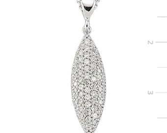 Swarovski Silver Necklace - IJ1-2089