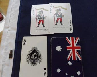 Vintage British Flag Playing Cards