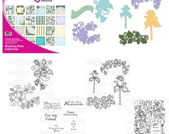 Heartfelt Creations Blushing Rose I Want it All Collection IWIA-179