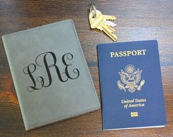 personalized leather passport holder, passport holder, engraved passport, travel wallet, passport wallet, women passport cover PC110