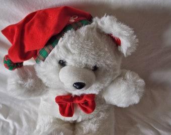 1990 Snowflake Bear Plush Toy