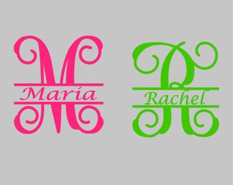 Names Decal-Personnalized Stickers-Water Bottle vinyl decal- 4inches Vinyl Decal-Holiday Gift Decal-Monogram Vinyl Decal- Custom item Vinyl