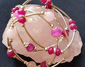 Set of 4 stretch bracelets