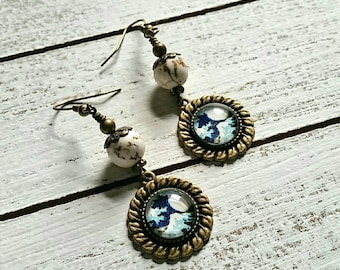 The Great Wave, Earrings Edition.