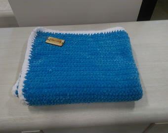 Crochet blanket 120x70 home decor