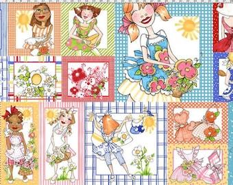 Loralie Designs ApronEsque Fabric Panel Novelty Fabric Panels Apron Fabric Panels