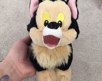 Disney Pinocchio cat plush