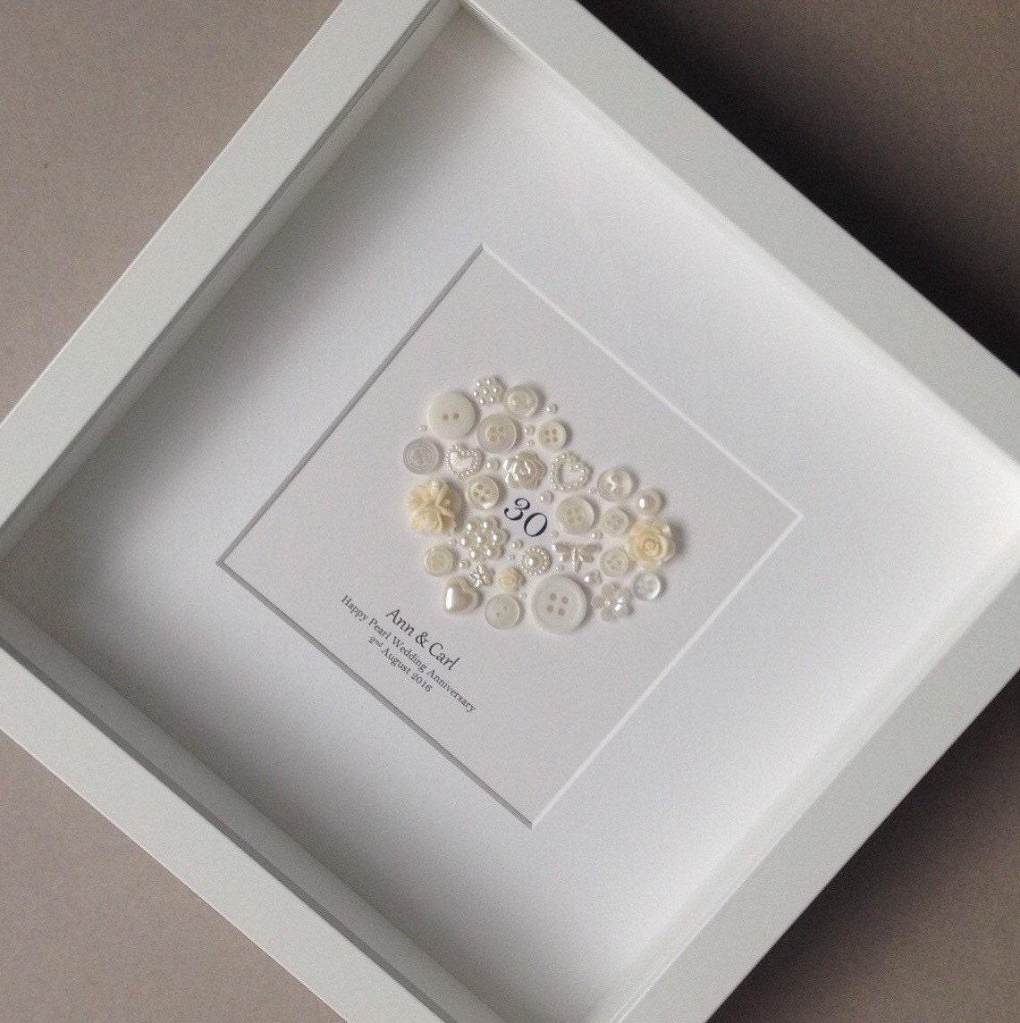 30th Anniversary Gift Pearl Wedding Anniversary 30th Wedding