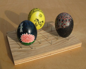 Egg Rack for making Ukrainian Pysanky