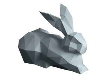 Deco Bunny from Paper