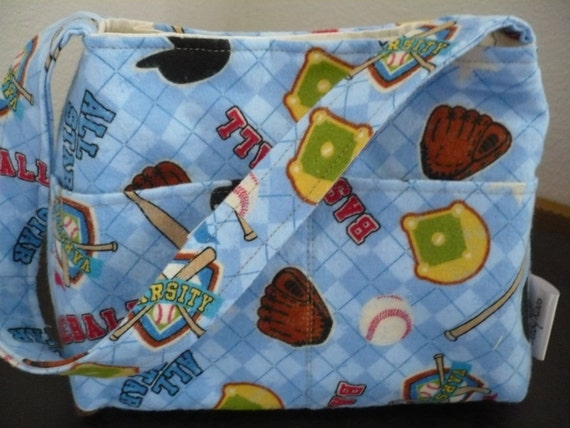 Let's Play Ball Mini Diaper Bag