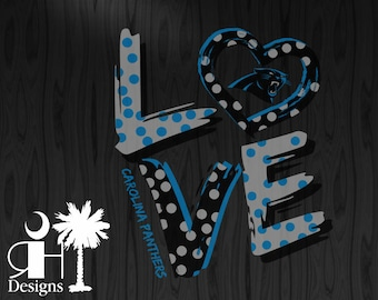 Panther Love SVG