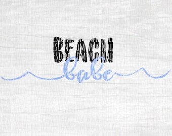 Beach Svg Cut File - Beach Trip Svg Cut File - Summer Vacation Svg Cut File - Beach Vacation Svg Cut File - Cruise Svg Cut File - Hipster