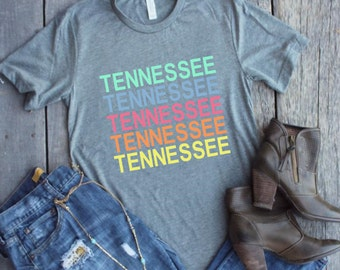 tennessee, rocky top, TN, university of tennessee, nashville, memphis, knoxville,birthday shirt, gift for her