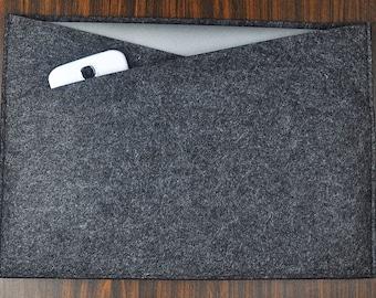 Felt laptop sleeve,13 inch laptop case, 7/10/11/13/14 /15 inch Felt laptop Sleeve,Hand-made Bag,laptop case,Custom laptop cover case.  2C392