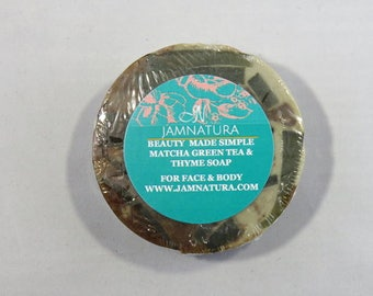 Matcha Green Tea & Thyme Soap
