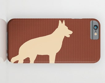 German Shepherd Dog on Phone Case -  iPhone 6S, iPhone 6 Plus, Gifts for Pet Lovers,  Samsung Galaxy S6 , iPhone 8