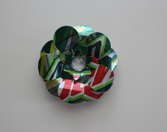 Mountain Dew: Soda Can Flower Magnet