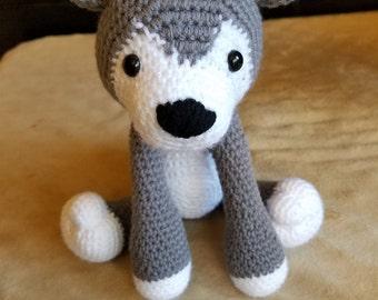 Husky Amigurumi - Crochet Husky - Dog Amigurumi - Crochet Dog