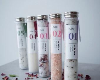 Bath salt organic no05 - lemon verbena. 75 ml