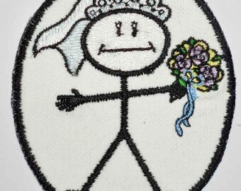 Iron-On Patch - STICK BRIDE