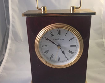Howard Miller Clock Gold colored Bintage Antique! Model #613528