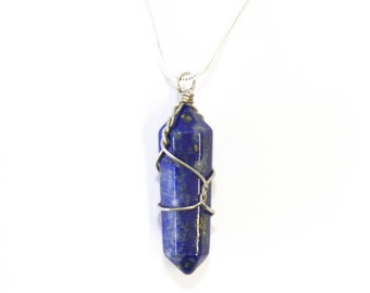 Lapis pendant for thoat healing