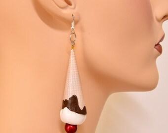 Earrings Ice Cream Cones