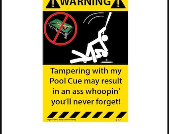 Pool Stick Etsy