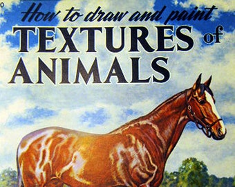 "How to Draw and Paint ""Textures of Animals"" by Walter J. Wilwerding"