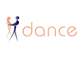 Pre-Made LOGO DESIGN - Customized with your Name - Dance - Company Logo - Business Logo