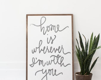 Home Is Wherever I'm With You - Aedriel