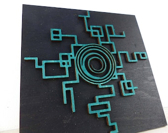 Geeky Laser Cut Gaming Plaques Inspired by Zelda twilight Princess portal E2GGGPZPPS