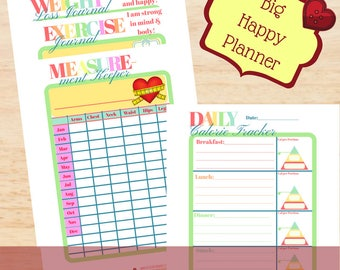 """Daily Exercise Tracker Planner Insert - """"You Got This!"""""""