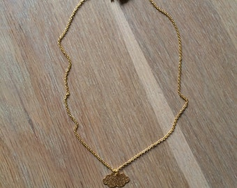 Collier Cloudy mini (gold)