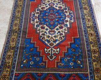 6 by 11 rug, Large Vintage Rug, Large Oushak Rug, Large Turkish Rug, Large Area Rug, Large Boho Rug, Oushak Rug, Large Rug, Oversize Rug