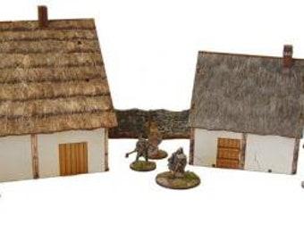 Age of Saga: Medieval Village - Bandua Wargames