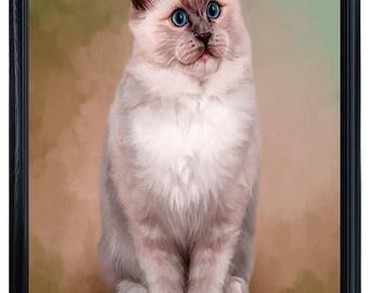 Ragdoll Cat Framed Canvas Print Wall Art