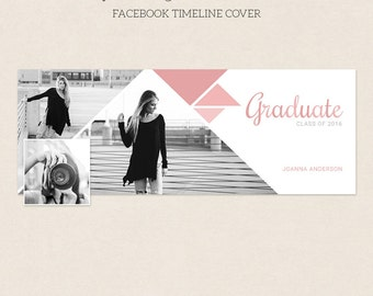 Facebook Timeline Cover - Facebook Timeline Template - PSD Template - Customize Facebook Page - Instant Download - F230