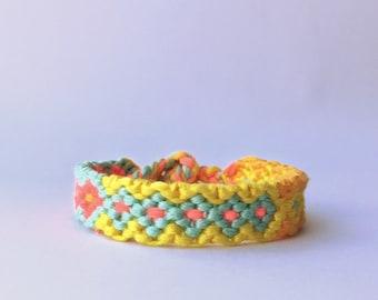 thick friendship bracelet
