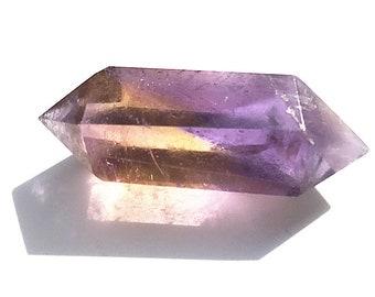 Double Terminated Ametrine Spheres Points,  Ametrine Spheres Healing Energy Healing Spiritual Stones (18042014)