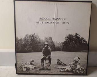 Vintage 1970 Apple Records LP Set George Harrison All Things Must Pass Near Mint Condition Box Set 14771