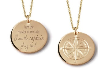 Gold compass Etsy