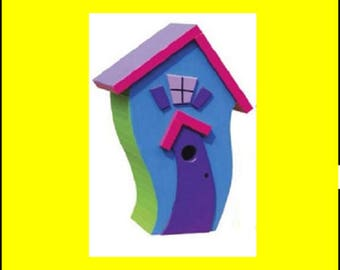 Whimsical Birdhouse #1