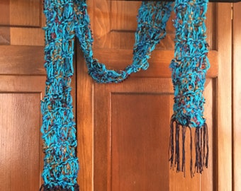 Crochet Accent Scarf