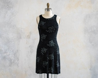 1990s Sparkly Party Dress