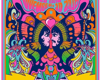 This psychedelic poster by Darren Grealish